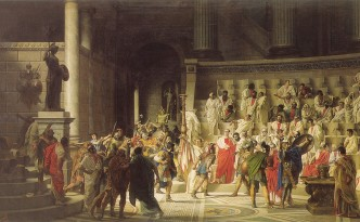 The Last Senate of Julius Caesar