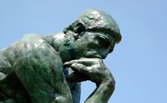 "Rodin's ""The Thinker""/Photo by Brian Hillegas"