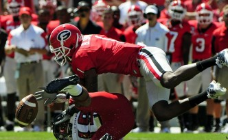 UGA Football Player Branden Smith -- Photo by David Tulis