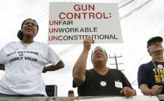 Gun Rights Advocates: (Jacquelyn Martin/AP)