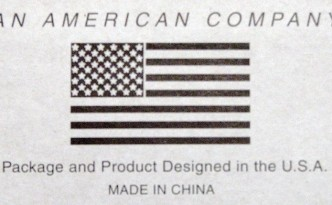 American Company Made in China