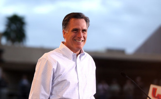 Romney at Rally