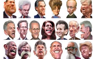 2012 Republican Field Caricatures