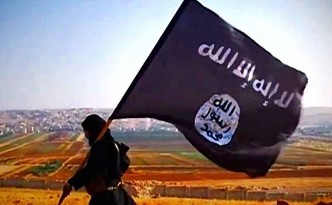 ISIS Flag Waving